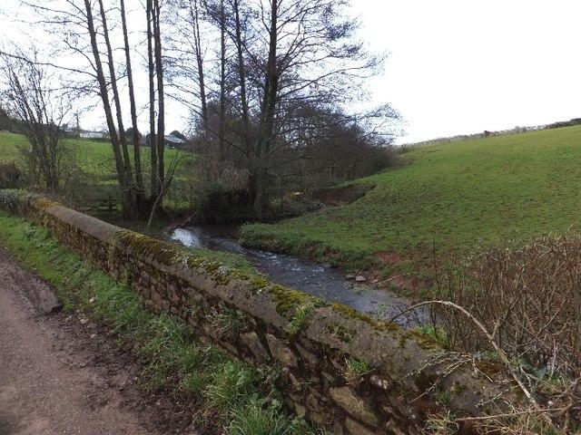 The Burn River at Burn Bridge