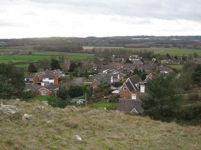 Lilleshall village