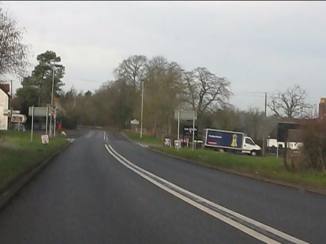 Six Ashes crossroads, A458
