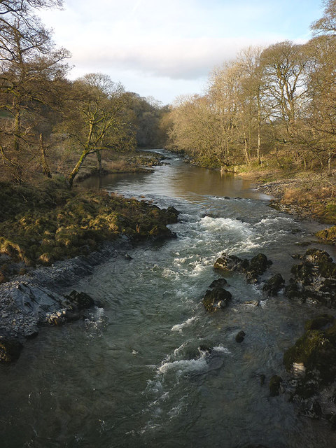 The River Lune below Goodies Farm