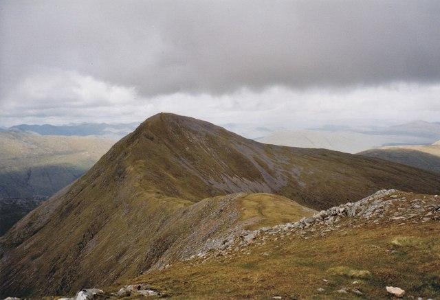 Ridge to Gulvain summit