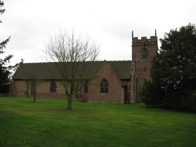 Church of St Michael's and All Angel's Lilleshall