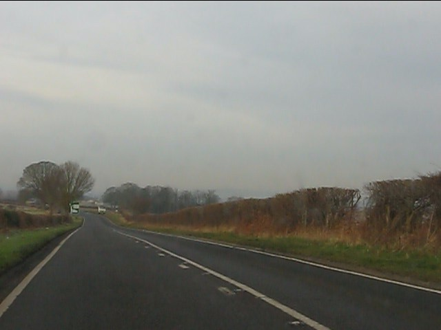 A458 north of Burf Castle