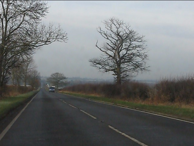 A458 on the high ground east of Bridgnorth