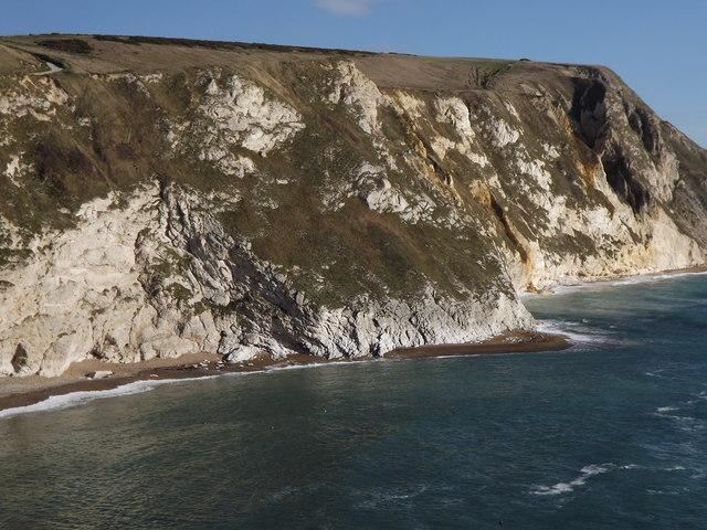 Cliffs at Man o'War Cove