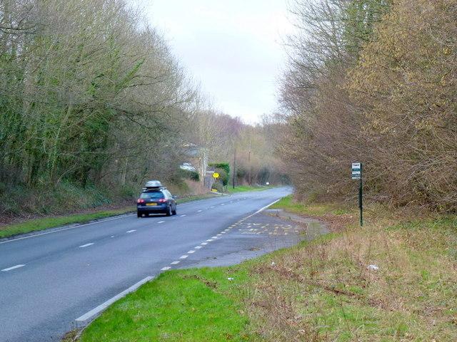 A465 at Little Goytre