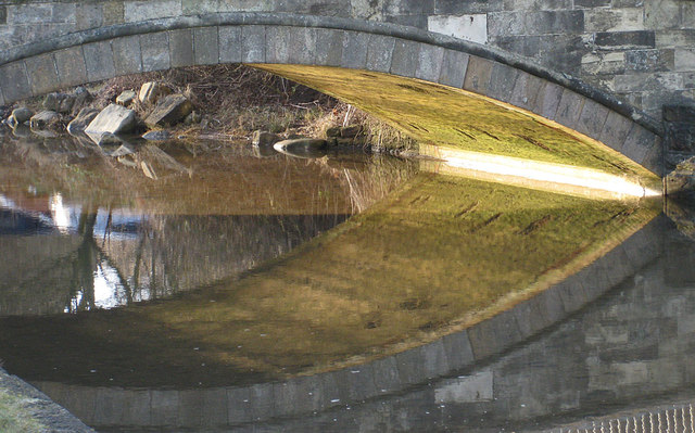 Shallow arch of East Row Beck