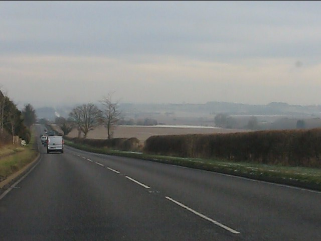 Long straight on the A454