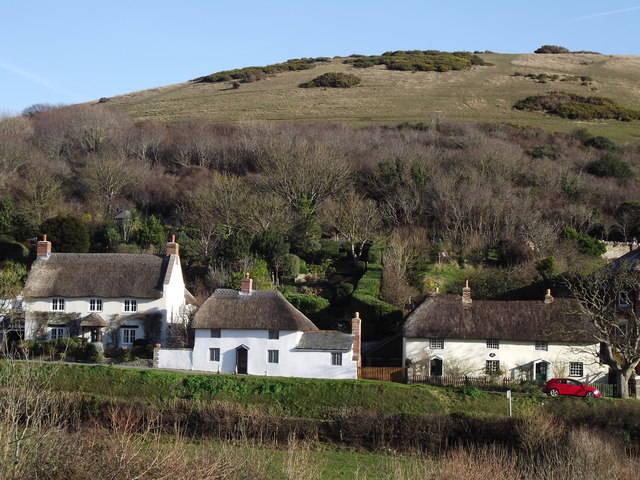 Thatched Cottages at Lulworth