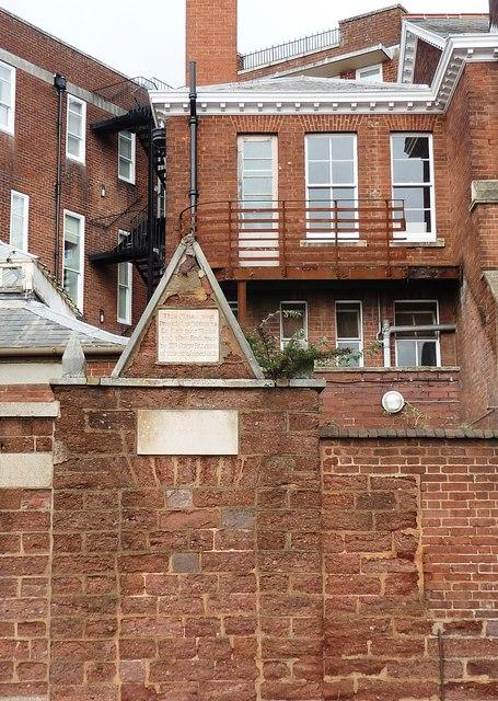 John Palmer's Almshouses, Magdalen Street, Exeter