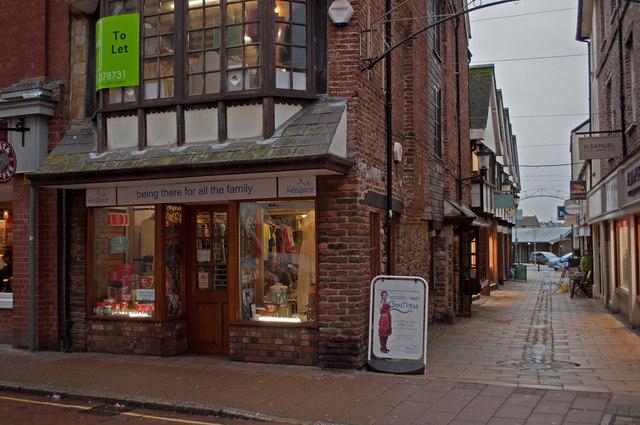 The North Devon Hospice Charity Shop, The High Street, Barnstaple