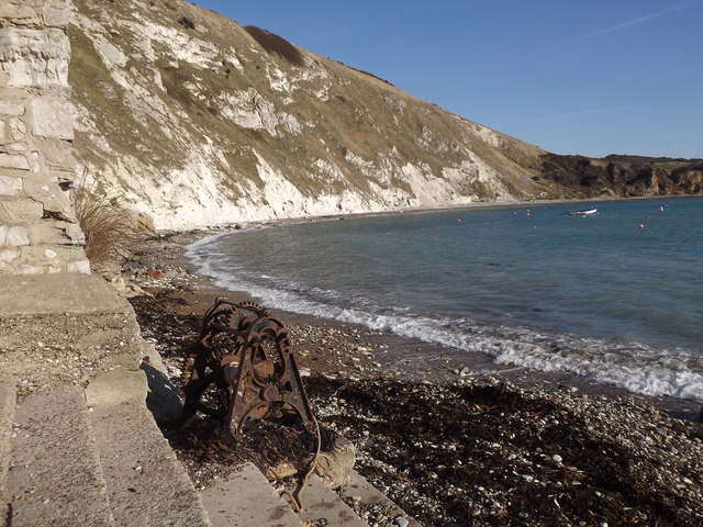 Winch Gear at Lulworth Cove