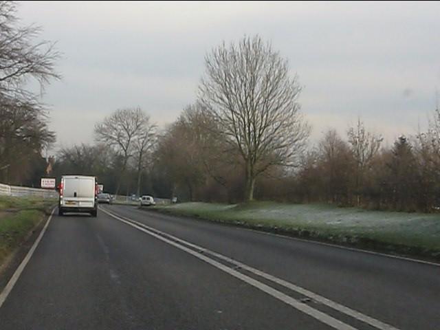 A454 approaching Swancote