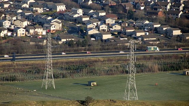 Edinburgh City Bypass and infill housing