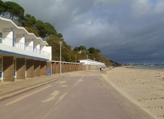 Canford Cliffs, promenade
