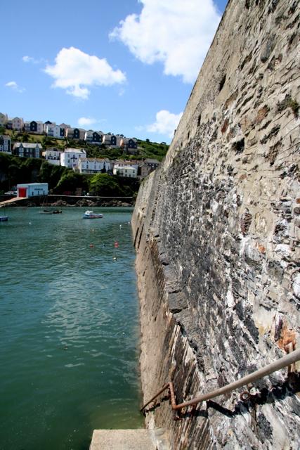 Mevagissey Inner Harbour Wall