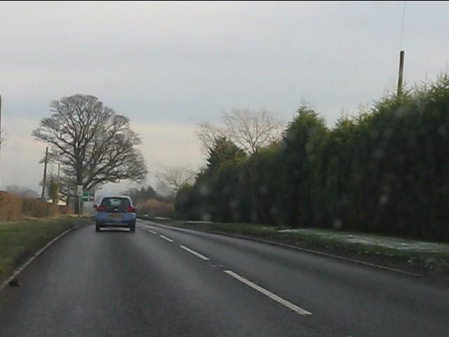 A454 east of Shipley