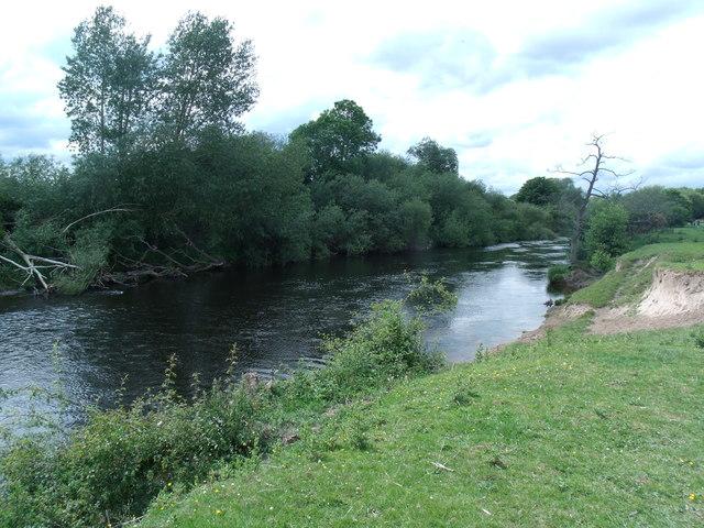 River Dee towards Overton