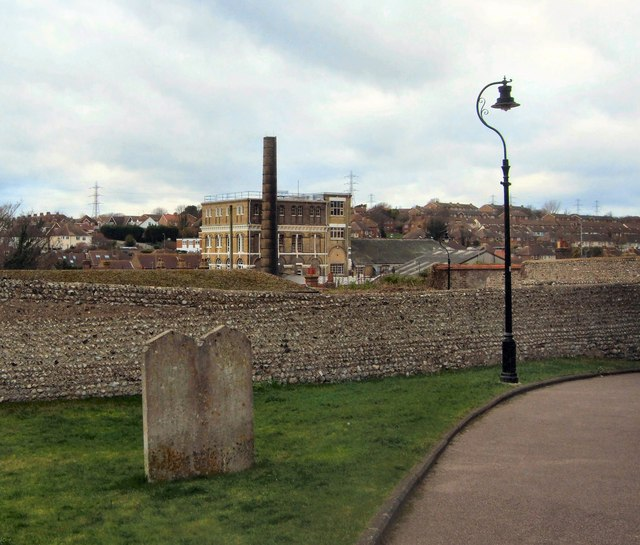 Side view of Former Southdown Brewery
