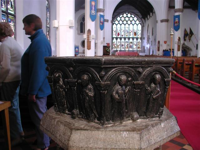 Font,  Lady St. Mary Church, Wareham