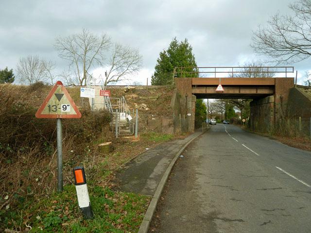 Bridge XTD 227 over Leigh Road