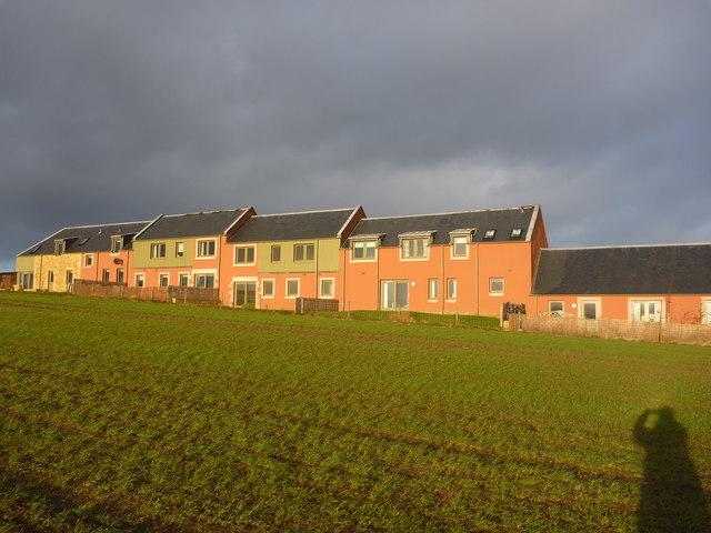 Rural East Lothian : New Housing at Bolton, near Haddington