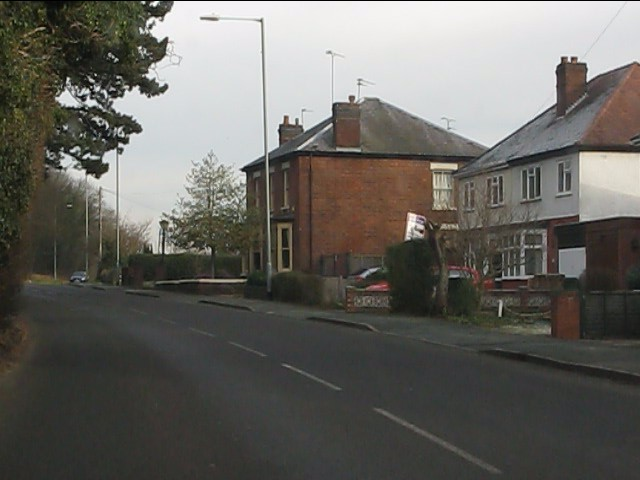 Mixed housing on Henwood Road