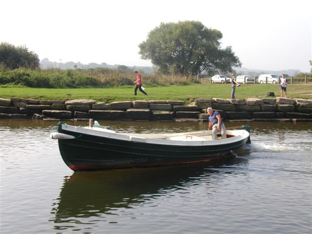 Boating on the Frome