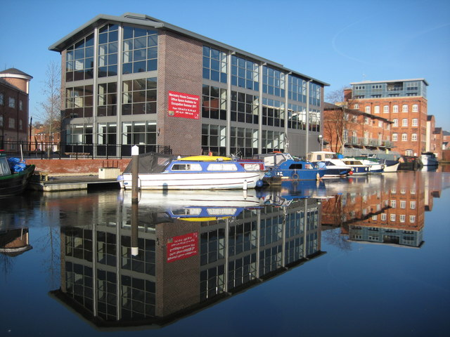 Redeveloped Diglis Basin