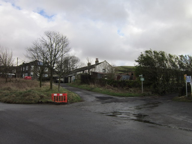 Houses at Lydgate on Blackstone Edge Old Road