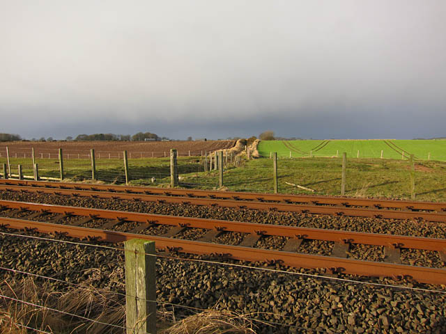 East coast railway line