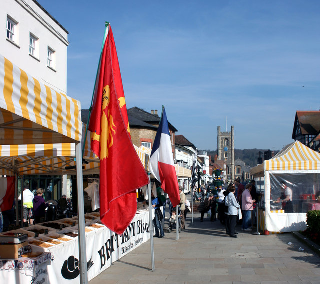 French Market, Falaise Square, Henley