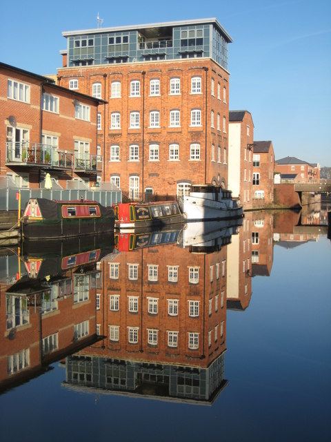 Converted warehouses, Diglis
