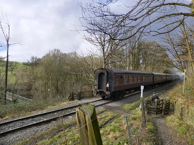 East Lancashire Railway, Chest Wheel Crossing