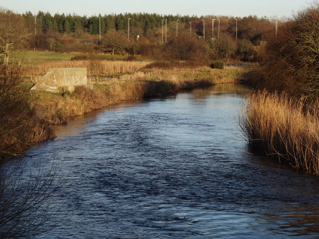 River Frome from Wool Bridge