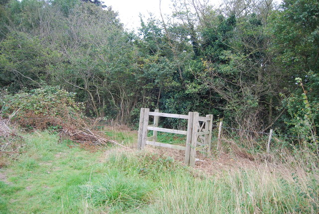 Kissing gate near Claydon