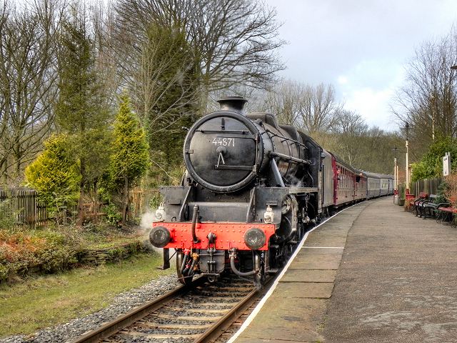 Black Five at Summerseat