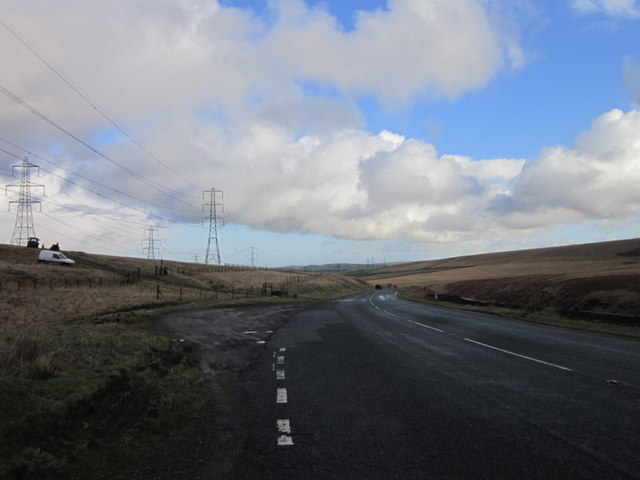 The Rochdale Road at New Gate End Bridge