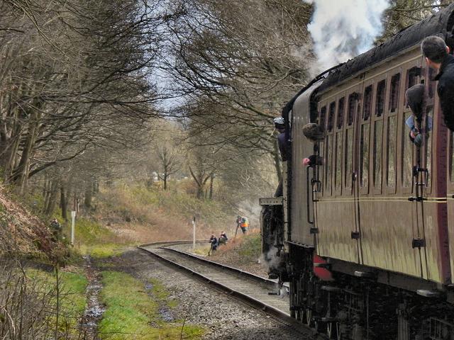 East Lancashire Railway, Summerseat Cutting
