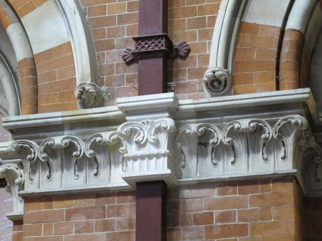 St. Pancras Station, west side - interior detail