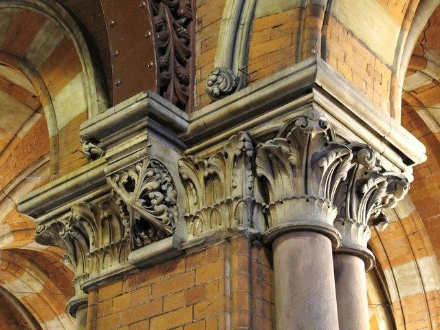 St. Pancras Station - interior detail