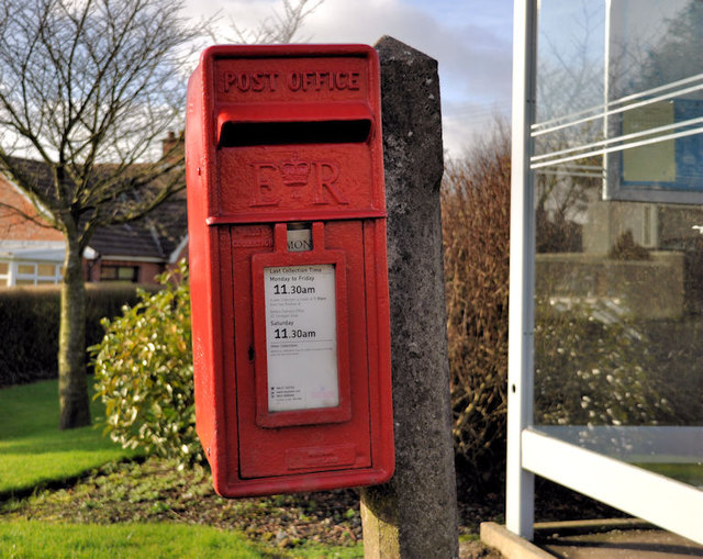 Letter box, Crossnacreevy near Belfast