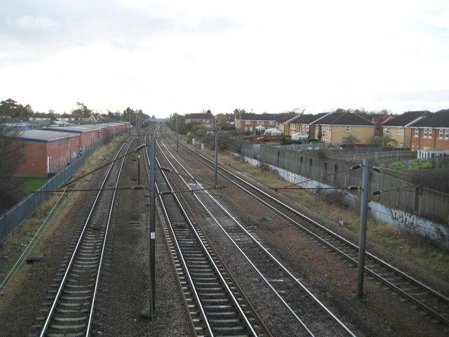 Stevenage: Site of the former Stevenage railway station