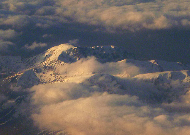 Ben Nevis from above