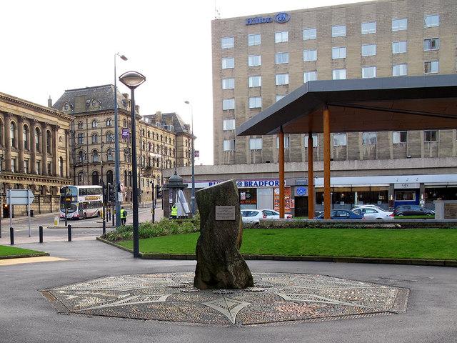 City Centre Park; Lynch memorial