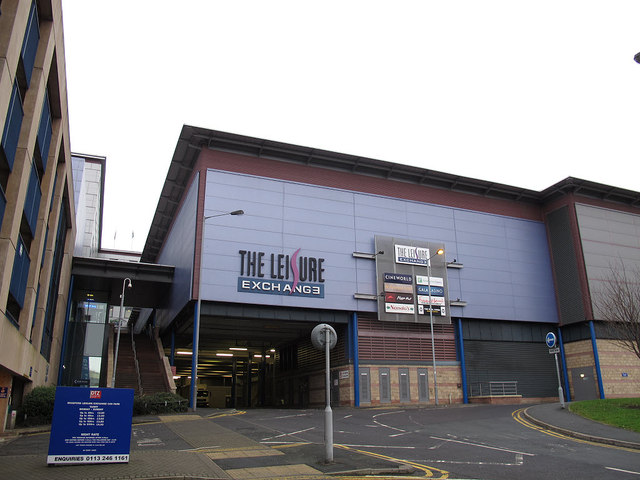 Rear of the Leisure Exchange