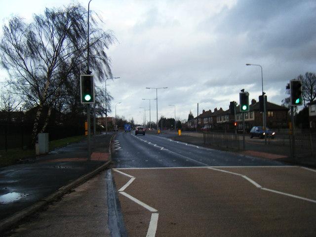 Widnes Road A562