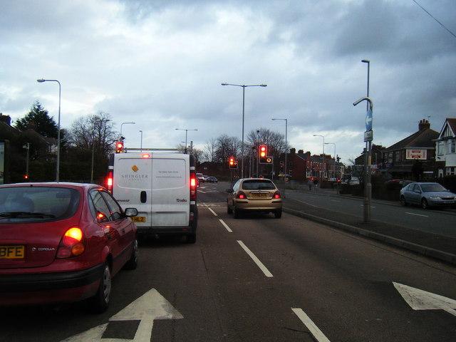 Penketh Road/Liverpool Road junction