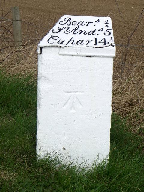 Milestone and bench mark, Falside