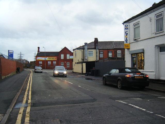 Hood Lane at Sankey Bridges